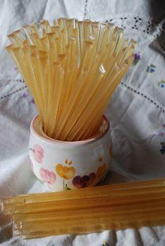 Honey Stix Honey Sticks Straws filled with by PeaceBlossomCandles, $33.00