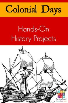 Hands-On History Activities to Bring Early American History to Life Tweens/teen can get a better understanding of what daily life was like for the American colonists with these creative colonial hands-on history projects. Great for middle school history. 4th Grade Social Studies, Social Studies Activities, History Activities, Teaching History, History Education, History Websites, History Articles, Classical Education, Teaching Time