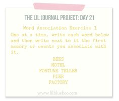 The Lil Journal Project Day 21 via lilblueboo.com #theliljournalproject