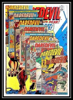 Daredevil (Marvel) in Collectibles, Comics, Bronze Age (1970-83) | eBay