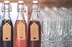 Pimp Your Prosecco bottled cordials - Blueberry & Blackcurrent, Elderflower & Rose, Raspberry & Grapefruit