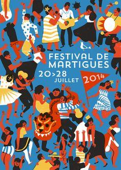 Virginie Morgand | Festival de Martigues poster