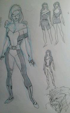 Stuart Immonen's All-New ALL-NEW X-MEN Costumes ... Jean Grey