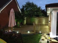 Decking Lights - Stirling - Stirling Electrical Services Ltd. Deck Lighting, Stirling, Decking, Lights, Places, Outdoor Decor, Photos, Home Decor, Pictures