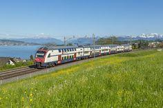 540 SBB RBe 540 at Horgen Oberdorf, Switzerland by Sandro Gadola Swiss Railways, Travelogue, Switzerland, The Unit, World, Rabe, Sandro, Electric, Model