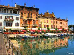Harbour Desenzano del Garda. Lago di Garda.