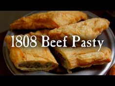 If you're from the Michigan area, chances are you've already heard of a beef pasty before. If you're from the Michigan area, chances are you've already heard of a beef pasty before. Meat Recipes, Indian Food Recipes, Cooking Recipes, Colonial Recipe, Meat Cake, Depression Era Recipes, Ancient Recipes, Fire Cooking, Skirt Steak