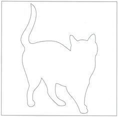 Cat Block | Free pattern, Cat and Patterns : applique cat quilt patterns - Adamdwight.com