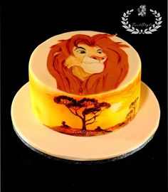Lion King cake Lion king cakes Lions and Cake