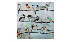 Gift Craft Stretched Canvas Print, Birds on Wire Gift Craft https://www.amazon.com/dp/B00O32C32E/ref=cm_sw_r_pi_dp_x_zY3oybKBEV0TY
