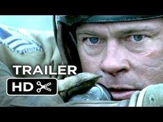 ▶ Fury Official Trailer #1 (2014) - Brad Pitt, Shia LaBeouf War Movie HD - YouTube