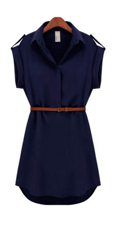 Belted dress for my summer wardrobe