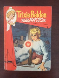 Mid Century Book Trixie Belden Mystery on by BetsyVintageHome
