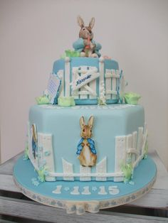 Peter Rabbit  - Cake by The Stables Pantry
