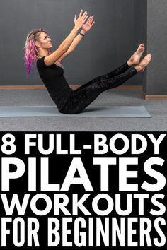 Pilates Workout Routine, Pilates Training, Pilates Abs, Pilates Videos, Videos Yoga, Pilates At Home, Pilates Reformer Exercises, Pilates Studio, 8 Minute Ab Workout