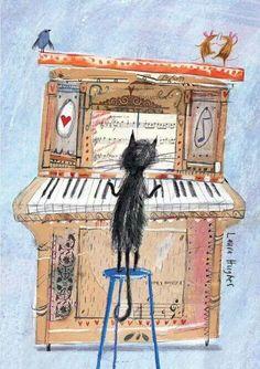=^..^=  The Piano Cat