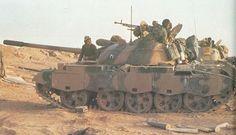 Iraqi Type-69, Battle for Al-Amarah, March 1984.