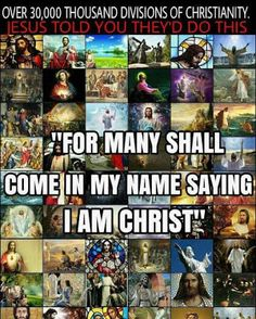 Now...today is your day to obey the Laws, Statues, and Commandments of The Most High God. False image of Christ;-)