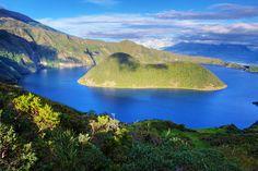 Laguna de Cuicocha Imbabura Ecuador