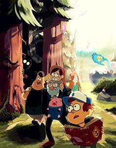 Gravity Falls by student-yuuto.deviantart.com on @deviantART