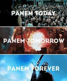 Panem; the hunger games
