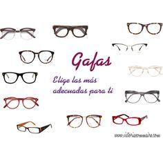 ¿ En qué debes fijarte cuándo elijas tus gafas?