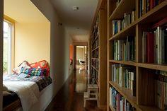 biblioteca en el pasillo!