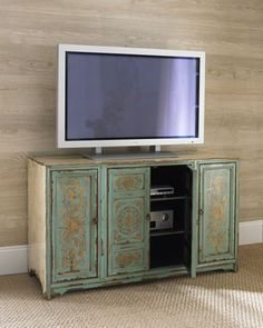 TV console--Zoia Entertainment Console at Neiman Marcus.
