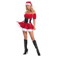 Red Santas Helper Chirstmas Costume