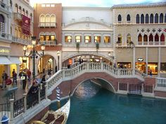 The Venetian - Las Vegas The rooms are nice here. Small sunken in living room areas. They play Jersey Boys and Phantom on the elevators. Can be a long haul to the casino though.