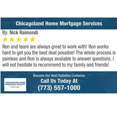 Ron and team are always great to work with! Ron works hard to get you the best deal...