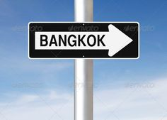 Realistic Graphic DOWNLOAD (.ai, .psd) :: http://vector-graphic.de/pinterest-itmid-1006723385i.html ... This Way to Bangkok  ...  arrow, asia, asian, bangkok, blue, capital, city, direction, directional, one way, road sign, sign, signage, sky, thai, thailand, this way  ... Realistic Photo Graphic Print Obejct Business Web Elements Illustration Design Templates ... DOWNLOAD :: http://vector-graphic.de/pinterest-itmid-1006723385i.html
