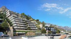 ZA Clifton Terraces: Located at the heart of Clifton, this prestigious development consists of 14 apartments. Terraces, Home Automation, Cape Town, Apartments, South Africa, Ocean, Mansions, Architecture, Luxury