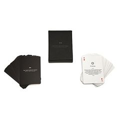 Look what I found at UncommonGoods: Gentlemen's Card Deck for $1502 #uncommongoods