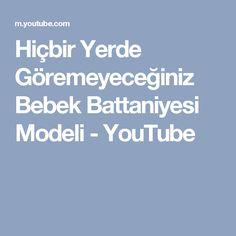 Hiçbir Yerde Göremeyeceğiniz Bebek Battaniyesi Modeli - YouTube