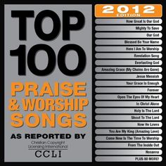 cool Top 100 Praise & Worship Songs 2012 Edition