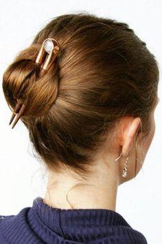 Quick Bun Hairstyle