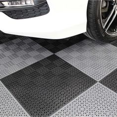 PlastiPro-Loc Heavy Duty Garage Floor Tiles monotone flooring like this is great. polished concrete is another great option. Garage House, Diy Garage, Garage Storage, Garage Ideas, Dream Garage, Garage Paint Ideas, Garage Decorating Ideas, Carport Garage, Storage Sheds