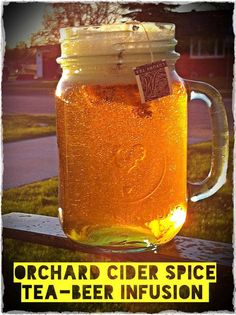 Beer Infusions by Steeped Tea! I can't wait to try this in the summer, bring on the heat!!