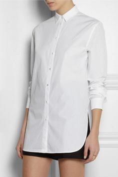 T by Alexander Wang|Cotton-poplin shirt|NET-A-PORTER.COM