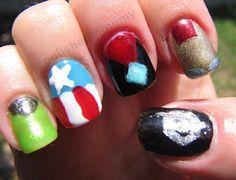 Avenger Nails!