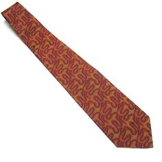 Vintage Necktie Flame Orange Red Blue Tie by sweetie2sweetie, $12.99