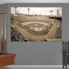 Inside Fenway Park Historical Mural | Boston Red Sox Wall Decal | Sports  Décor Part 59