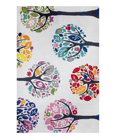 Look what I found on #zulily! Peace Trees Rug by Oriental Weavers #zulilyfinds