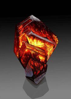 Wurtzite Crystal by Galder on DeviantArt Minerals And Gemstones, Crystals Minerals, Rocks And Minerals, Stones And Crystals, Cool Rocks, Beautiful Rocks, Arte Steampunk, Mineral Stone, Fantasy Weapons
