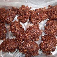 NO BAKE CHOCOLATE HAYSTACK COOKIES by Linda Nutt