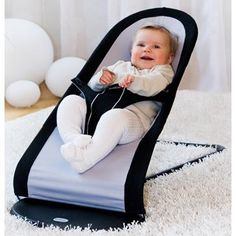 baby bouncer for when you wanna cook, shower, do your thing.