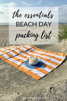 Nothing says summer or vacation like a day at the beach. Sun, surf, and sand are all you need for a perfect day, except for a few essential beach gear items. Here's everything you need to make sure your day at the beach is as relaxing as possible. #travel Beach Vacation Rentals, Beach Vacation Outfits, Beach Trip, Destin Beach, Travel Packing, Packing Lists, Fun Travel, Beach Travel, Time Travel