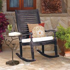 GrandinRoad Nantucket Rocking Chair