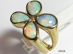 Opal - Goldschmuck (Ringe)